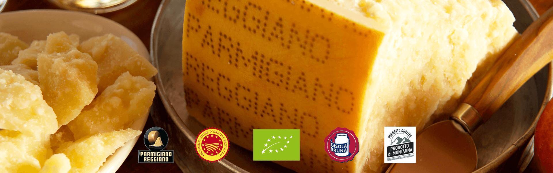 Marchi di qualità Parmigiano Reggiano