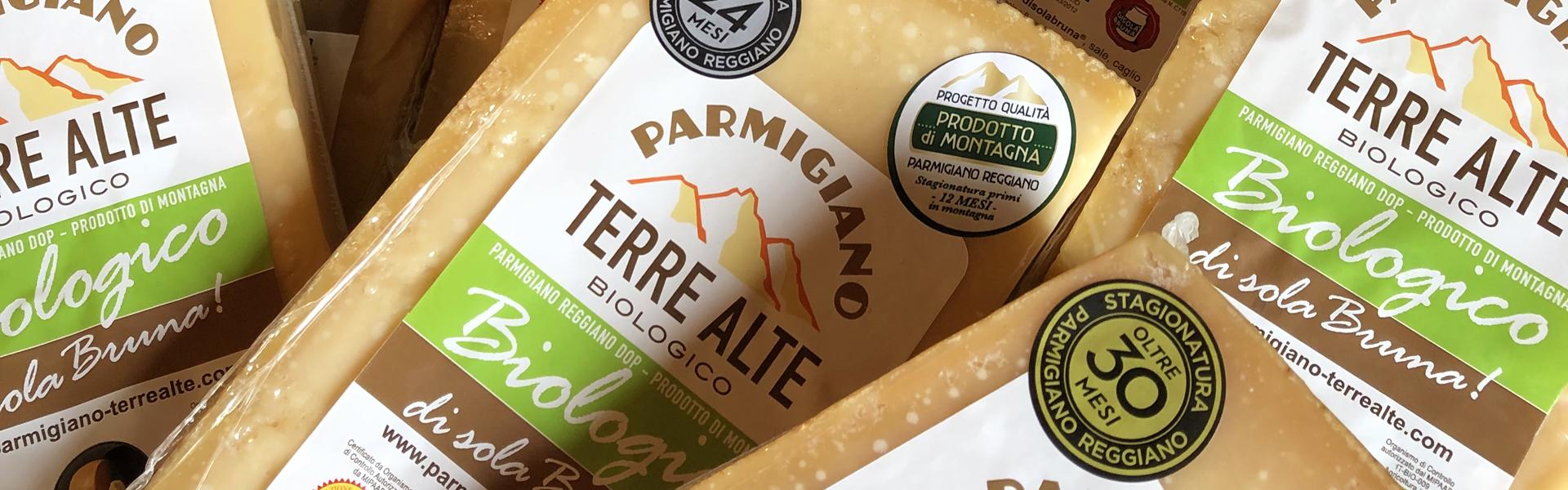 Prodotti Parmigiano Terre Alte